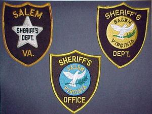 Past Sheriff's Office Patches